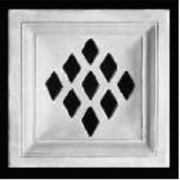 Kafel ROMA ażurowy środek Nr artykułu: 110/A 06 Wymiary: 22 x 22