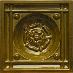 Kafel ŁAŃCUT GŁEBOKI brązowy A-002 190 x190 x50 mm