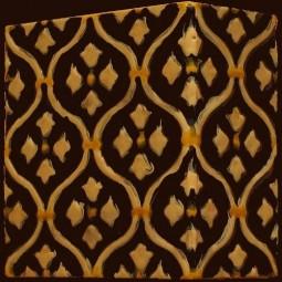 Kafel BAROK narożny R-2 180 x 180 x 90 mm