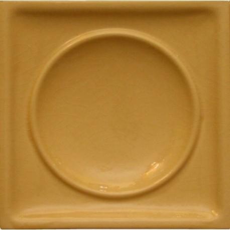 Kafel TALERZ DUŻY biały A-004 220 x220x50 mm