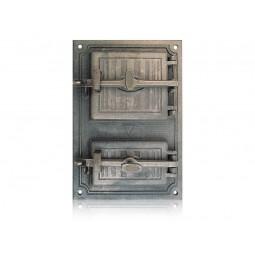Drzwiczki piecowe hermetyczne nr. 0090 szer. 330 mm wys. 490 mm