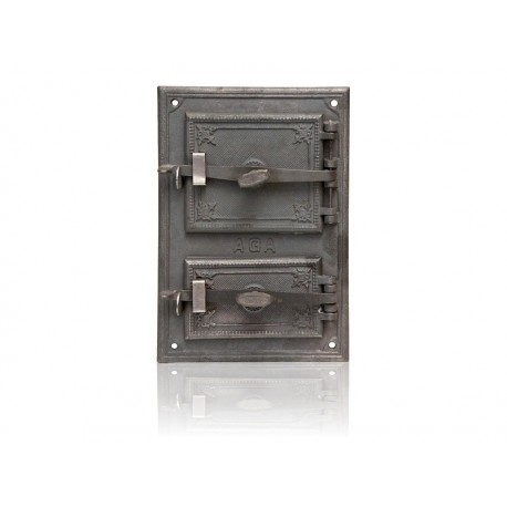 Drzwiczki piecowe hermetyczne nr. 0199 szer. 320 mm wys. 470 mm