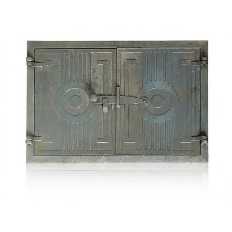 Drzwiczki żeliwne nr 0040 szer. 480 wys. 330