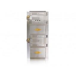 Drzwiczki kuchenne nierdzewne długie nr. 93 szer.285 wys. 640 mm