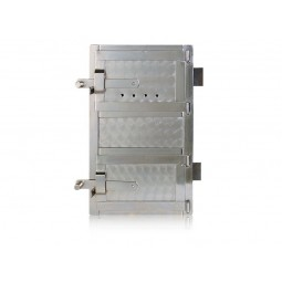 Drzwiczki kuchenne niklowane nr. 0033 szer.270 wys. 450 mm