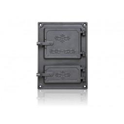 Drzwiczki kuchenne żeliwne DPK 4 nr. 8855 szer.275 wys. 375 mm