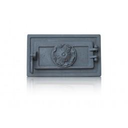 Drzwiczki popielnikowe żeliwne BAROK nr.54545 szer.335 wys. 195 mm