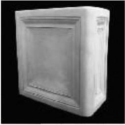 Kafel ROMA narożnik duży Nr artykułu: 110 05 Wymiary: 22 x 11 x 22