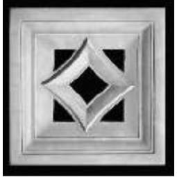 Kafel ROMA ażurowy środek Nr artykułu: 100/A 07 Wymiary: 22 x 22