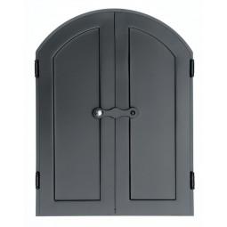 Drzwi do wędzarni DORIAN 60x80cm półokrągłe