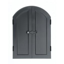 Drzwi do wędzarni MAX 50x70 cm półokrągłe