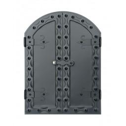 Drzwi do wędzarni MONIKA 50x70 cm półokrągłe