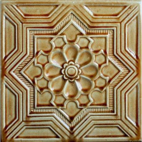 A Kafel GWIAZDA brązowy A-003 220 x220 x 50 mm