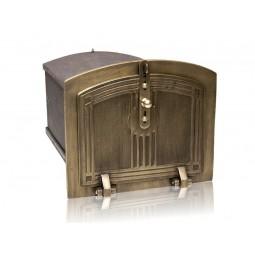 Piekarnik żeliwny patynowany nr.5885 szer.360 wys.310 głęb.500 mm