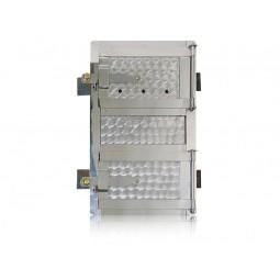 Drzwiczki kuchenne chromoniklowe nr. 0025 szer. 310 wys. 450 mm