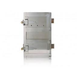 Drzwiczki kuchenne chromoniklowe nr. 0025/1 szer. 310 wys. 450 mm