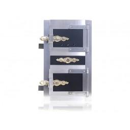 Drzwiczki kuchenne nierdzewne nr. 9997 szer.300 wys. 480 mm
