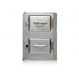 Drzwiczki kuchenne nierdzewne nr. 810 szer.325 wys. 450 mm