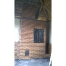 Wędzarnia z cegły klinkierowej