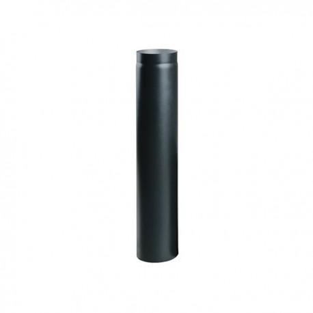 Rura spalinowa stalowa czarna 150 mm x 1000 mm